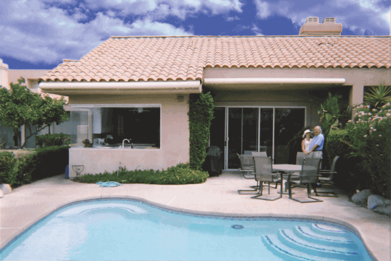 luxury awning technical details